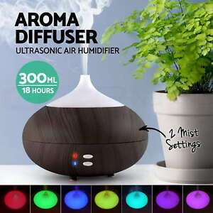 Essential-LED-Oil-Ultrasonic-Aroma-Aromatherapy-Diffuser-Air-Humidifier-Purifier