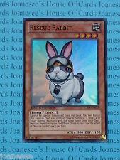 Rescue RABBIT ct09-en015 SUPER RARA YU-GI-OH CARD Nuovo di zecca EDIZIONE LIMITATA NUOVO