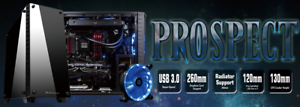 XigmaTek-Prospect-Nero-Mid-Tower-Gaming-PC-CASE-2-x-12-cm-Led-Blu-USB3-0-x-2
