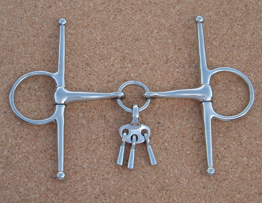 Full Cheek Mouthing Bit -  All Sizes - Horse Bit - Bits N Bridles  promotions