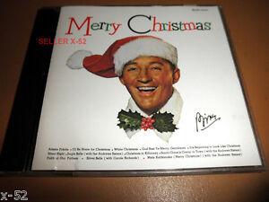 BING CROSBY cd MERRY CHRISTMAS silent night WHITE X-MAS jingle bells Silver Bell   eBay