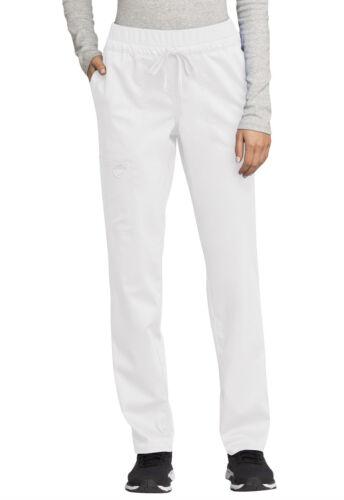 Details about  /White Cherokee Scrubs Workwear Revolution Drawstring Pant WW105 WHT