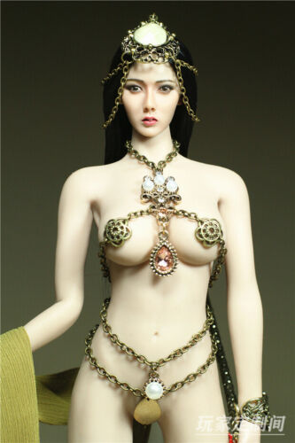"""Custom 1//6th Female Soldier Clothes-Luoyan Model for 12/"""" Phicen Big Middle Bust"""