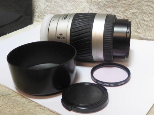 Sony A mount Minolta AF 70-210mm f4.5-5.6 autofocus zoom lens Minolta