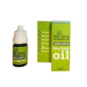 100 % Pure Tea Tree Essential Oil 10ml- Melaleuca Alternifolia, Anti Fungal .