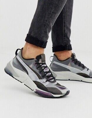 Puma LQDCELL Optic Sheer Men's Training Shoes - Size 9 - Gray Violet - Black   eBay
