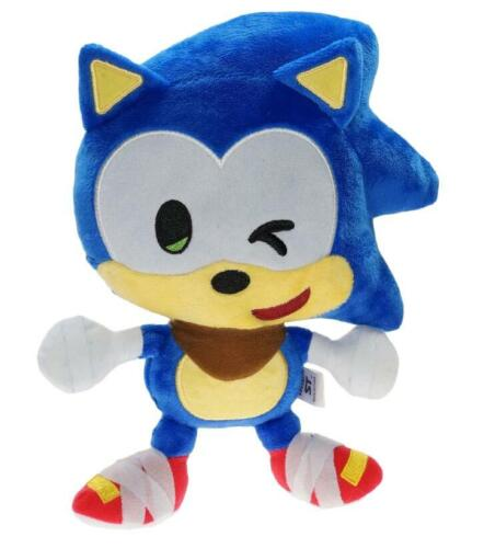 Rare Sonic The Hedgehog Plush Toys lot Super Sonic Werehog Form Amy Rose 8~13 in
