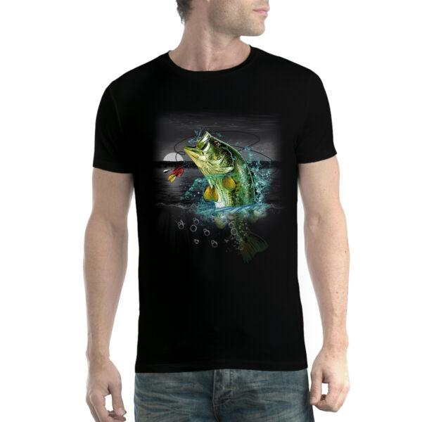 Bass Perch Pêche T-shirt Homme Xs-5xl Prix RéDuctions