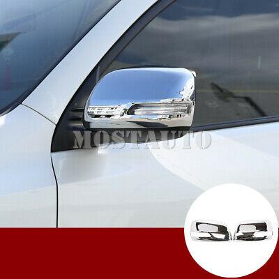ABS  Side Mirrors Rearview Stripe Cover Trim  for TOYOTA Prado FJ150 2010-2018