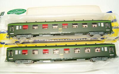 REE NW-141 Personenwagen Schnellzugwagen UIC gelbes Logo Epoche IV 2x Spur N