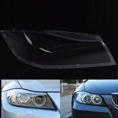 Car Xenon Headlight Lens Cover Headlamp Shell Left for 3 Series BMW E90 2005-12