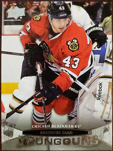2011-12 Upper Deck Young Guns Brandon Saad Rookie Hockey Card RC #207
