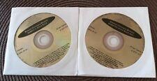 2 CDG KARAOKE DISCS HARD ROCK HITS - VAN HALEN,KISS,GREAT WHITE MUSIC CD CD+G