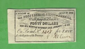 40-Dollars-CSA-Interest-Coupon-from-1861-1000-Confederate-Bond-Currency-Note