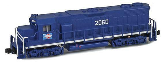 Locomotora AZL Z escala MOPAC GP38-2 Road número 2050