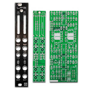 3HP TAKAAB 2LPG 2 Passive Low-pass Gates Eurorack Synthesizer Module