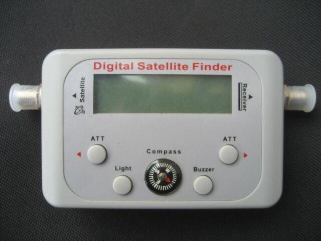 Digital Satellite Signal Meter Finder with Compass, Buzzer, LCD, Fta, Dish