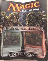 Mtg Elves Vs. Goblins Decks Sealed Free Shipping