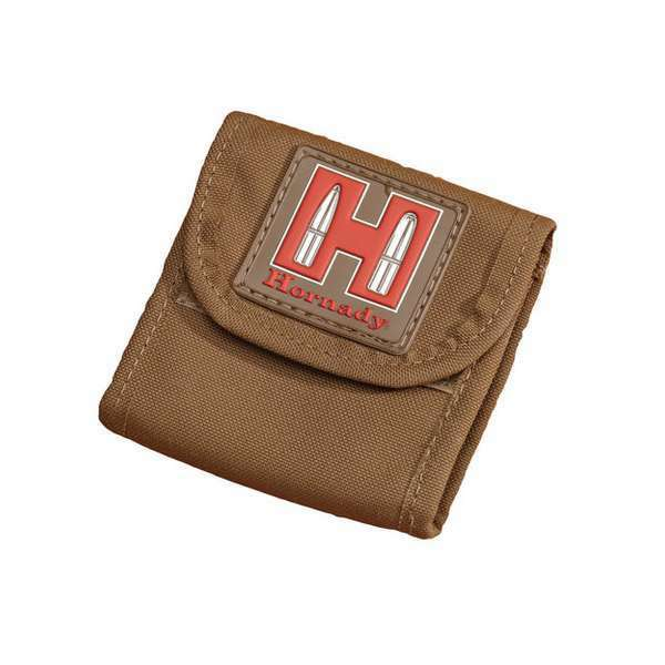 Hornady Ammo Pouch Tan 99116 Hunting Shooting
