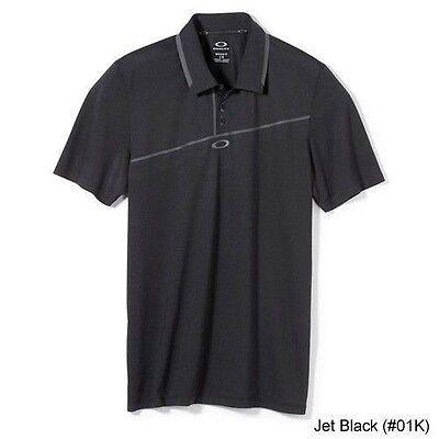 Mens Oakley Golf Good Times S/S Polo Shirt Blue Black Red Size S M L XL XXL