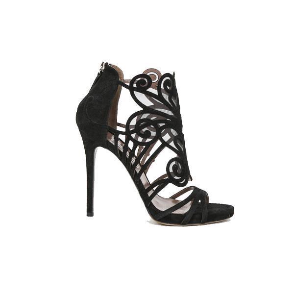 in vendita online Tabitha Simmons   nero Suede Suede Suede & Mesh Heels Dimensione EU 36.5  alta qualità