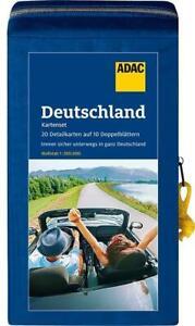 ADAC StraßenKarten Kartenset Deutschland 2021/2022 1:200.000 (Sheet map)