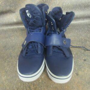 fbcb6ba778f9 Vlado Footwear Men s Atlas II 2 Blue Hi-Top Shoes IG-1500-14 Size 12 ...