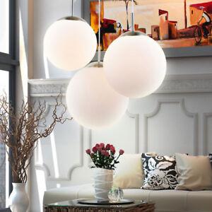 Luxus-Kugel-Pendel-Lampe-Wohn-Schlaf-Zimmer-Glas-Decken-Haenge-Leuchte-3-flammig