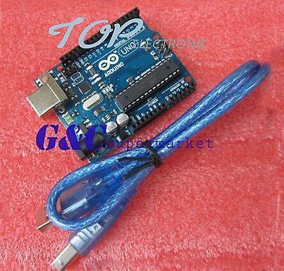 UNO R3 ATmega328P ATMEGA16U2 Board For Arduino Compatible TOP