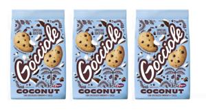 3 PZ Pavesi Biscotti Frollini Gocciole Coconut,Biscotti Cioccolato e Cocco 320gr