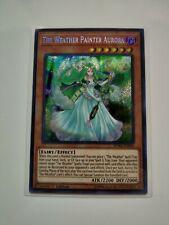1x M//NM The Weather Painter Aurora SPWA-EN034 Secret Rare 1st Edition YuGiOh