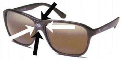 Vintage VUARNET POP OUT REPLACEMENT CENTRE PIECE SQAviator Sunglasses 4003 003
