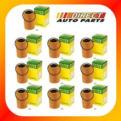 10 Pack OEM BMW LAND ROVER OIL FILTER MANN FILTER HU938//4x