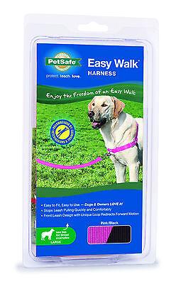 PetSafe/Premier Pet Easy Walk Harness Pink with Black
