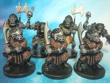 Dungeons & Dragons Miniatures Lot  Mountain Orc Mauler Assault !!  s104