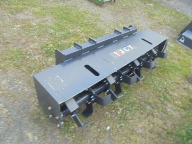 """72/"""" CID Extreme Duty Rotary Tiller Skid Steer Attachment 14 to 20 GPM"""