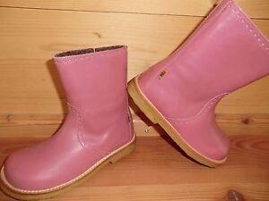 Details zu Bisgaard 60521 Stiefel Stiefelette rose pink Futter Tex Klett wasserdicht