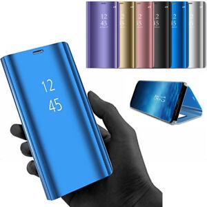 new concept 6f698 d3e37 Details about Hot Mirror Flip Cover For Huawei P20 Lite Nova 3E 3I 2018  Mate20 PRO Smart Case