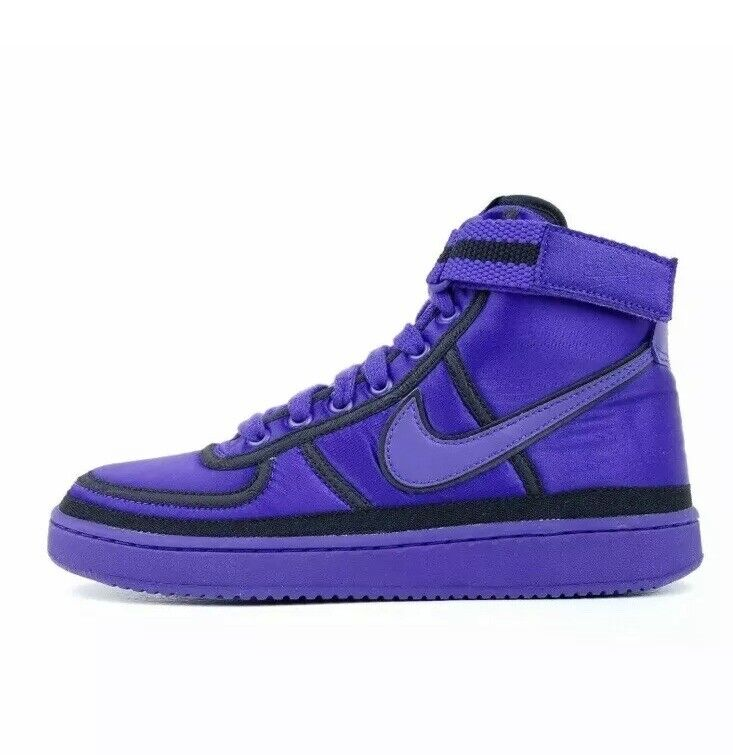 Nike Vandal High Supreme QS PRPL Basketball shoes Purple AQ2176 500 Size 9