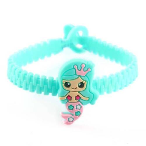 10Pcs//lot Mermaid Bangle Bracelet Party Party Favors Decor Baby Shower Birthday