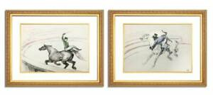 Henri-de-Toulouse-Lautrec-Limited-Edition-Circus-Series-Custom-FRAME