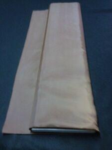Tenture MARIAGE tissu DOUBLURE GRIS au mètre large 75 cm plafond