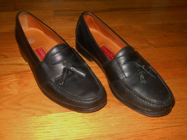 98ae1a7c4d5 Frequently bought together. Cole Haan men s tassel loafers Sz 10 D Black  leather India Very good cond