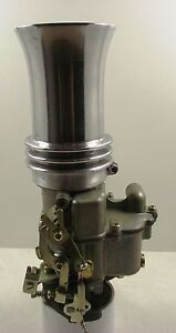 Holley-94-carby-Trumpet-Air-Filter-with-bug-screen-Chev-Ford-Chrysler-V8-hot-rod