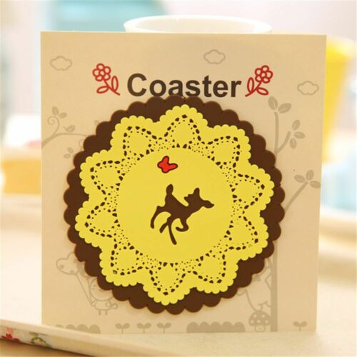 Animal Carved Heat Insulation Cup Accessories Table Decoration Mats Bowl