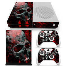 XBOX ONE S Skin Design Foils Aufkleber Schutzfolie Set - Vampire Skull Motiv