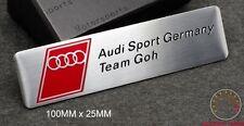 AUDI SPORT GERMANY TEAM GOH EMBLEM BADGE A3 A4 S3 S4TT QUATTRO DTM A1 R8 RS