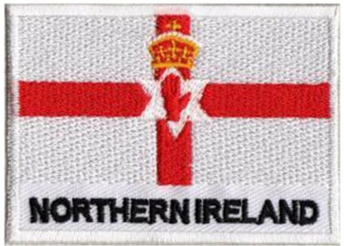 Patch Applikation Patch Irland Des Nord Ulster 70 X 45 MM