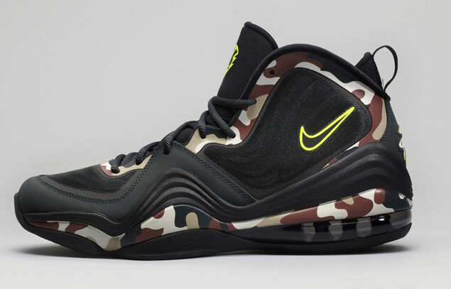 NEW Nike AIR PENNY V CAMO Men's Basketball Shoes Size US 8