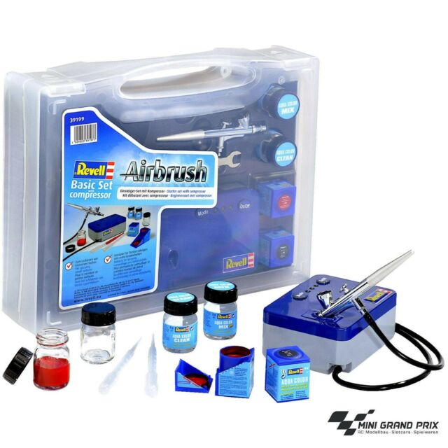 Revell 39199 Airbrush Einsteiger-Set mit Kompressor